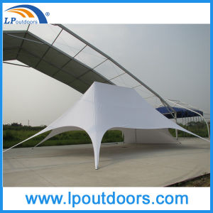 16X21m Double Pole Star Shape Canopy Tent Star Shade pictures & photos