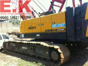 2011 Hydraulic Crawler 50ton Sany Crawler Crane (SCC500C) pictures & photos