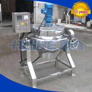 Stainless Steel Milk Jacketed Kettle for Food pictures & photos
