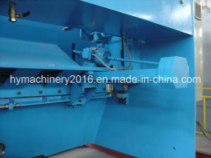 QC11y-16X3200 E21s Control Hydraulic Guillotine Shearing Machinery/plate cutting machinery pictures & photos