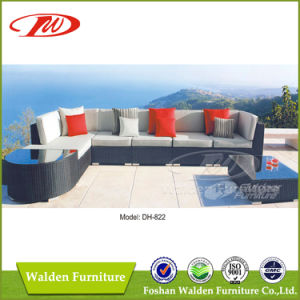 Rattan Furniture Outdoor Lounger Sofa (DH-822) pictures & photos