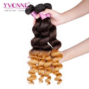 100% Human Hair Wholesale Ombre Hair Weaves pictures & photos