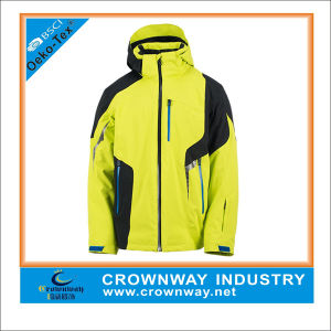 Custom Mens Hooded Waterproof Rain Jacket for Winter pictures & photos