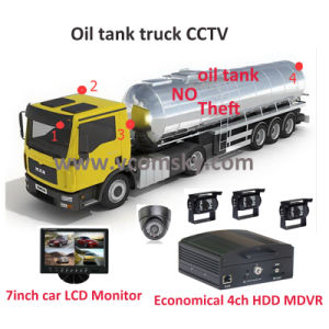 Car DVR and Mobile DVR Systems/Efficient 4 Channel Advanced Mobile Digital Video Recorder with GPS Positioning pictures & photos