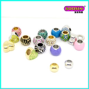 2016 New Mold Wholesale Alloy Colorful Enamel Bracelet Charm Beads pictures & photos