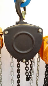 High Quality Chain Block Chain Hoist Lifting Equipment pictures & photos