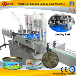 Automatic Canned Tuna Capper Machine pictures & photos