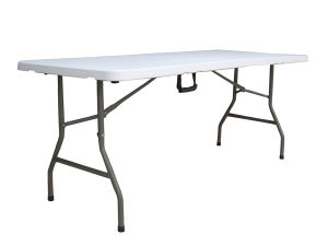 Hongma Plastic 6ft Plastic Folding Party Table pictures & photos