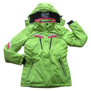 Women′s Water and Wind Proof Sport Outwear (HS16008)