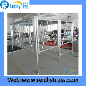 Aluminum Used Stage, Portable Stage, Adjustable Aluminum Stage for Sale pictures & photos