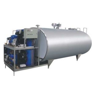 Food Sanitary Stainless Steel 3000L Bulk Milk Chilling Tank pictures & photos