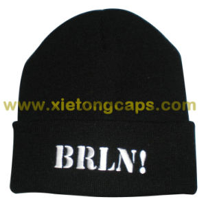 Fashion Warm Embroidered Flange Hat pictures & photos