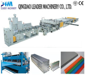 UV Protected Plastic PC Sheet Extrusion Equipment pictures & photos