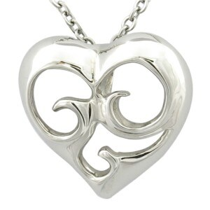 Silver Heart Women Hollow out Pendant pictures & photos