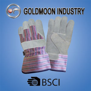 10.5′′ Cow Split Leather Safety Work Welding Glove pictures & photos