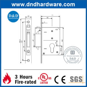Stainless Steel Black Key Lock with Ce Classification (DDML032) pictures & photos