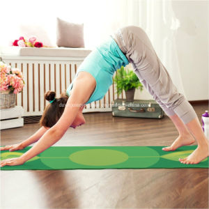 3mm Pilates Exercise Yoga Mat with Printed Design with Good Cushion pictures & photos