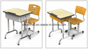 Classroom Single Desk and Chair, Student Furniture Sets pictures & photos