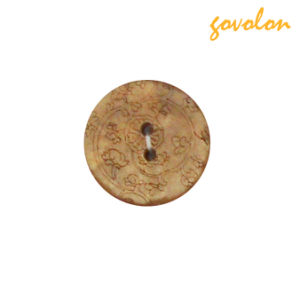 Fashion 2 Holes Wooden Button pictures & photos