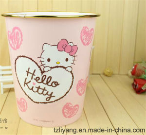 Heat Transfer Printing Film for Hello Kitty Trash Bin pictures & photos