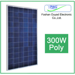 High Efficiency Solar Energy 300W Poly Solar Panel Manufacturer pictures & photos