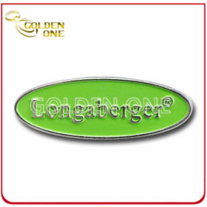 Customized Antique Color Fill 3D Logo Metal Badge pictures & photos