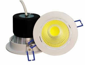 2016 New Design LED Downlight with White Housing