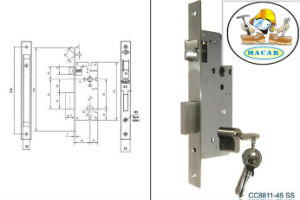 Top Quality Euro Standard Mortise Lock / Lock Body /Lock 4585//5085/6085