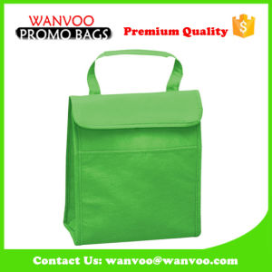 High Quality Green Nonwoven Picnic Cooler Bag pictures & photos