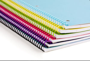Spiral Binding Note Book Printing Service (jhy-182) pictures & photos