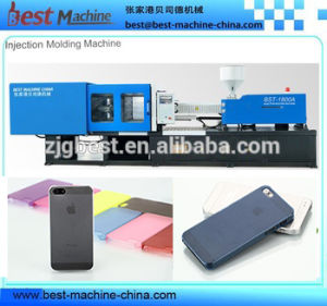 Customized Plastic Mobile Phone Case Injection Moulding Machine pictures & photos