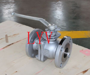 Flanged Two Pieces Gear Operation Ball Valve