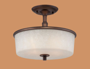Antique Semi Flush/Ceiling Lamp (1502RBZ)