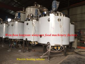 1200 Liters Carbonate Drinks Heated Mixing Tank Mixing Vessel pictures & photos