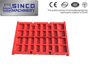 Manganese Casting Steel Jaw Crusher Spare Parts Jaw Plate