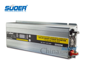 Suoer 12V 2000W Solar Power Inverter with Charger (HBA-2000C) pictures & photos