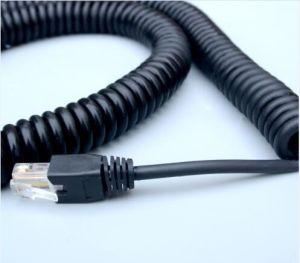 Yangzhou RJ45 DC Plug Spiral Coiled Cable