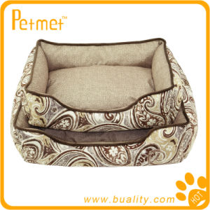 Rectangle Dog Bed with Zipped Removable Pillow (PT38230)