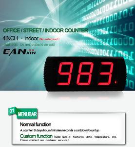 [Ganxin]4inch 7segment Kitchen Clock LED Digital Countdown Timer