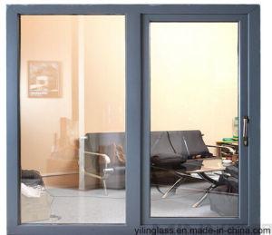 America Style Double Glazed Aluminum Sliding Window pictures & photos