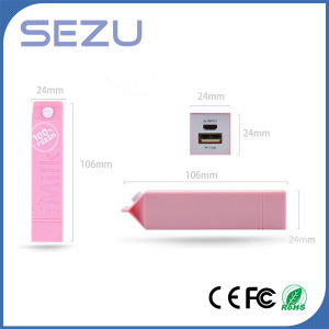 Milk Design 2600mAh Power Bank for iPhone /Samsung pictures & photos
