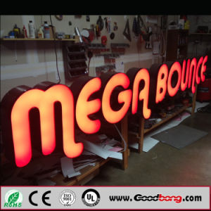 High Quality Acrylic LED Illuminated Chain Store Front Door Signs / Hair Salon Sign Board pictures & photos