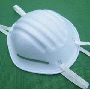 White Disposable Medical Dust Mask