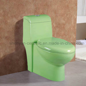 One-Piece Toilet Ceramic Toilet Bathroom Water Closet (A-037) pictures & photos