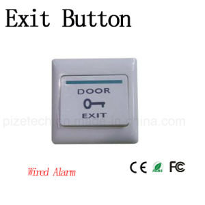 86*86*32mm Access Control Plastic Exit Door Release Exit Button pictures & photos