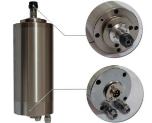 1.5kw 80mm Water Cooling Spindle Motor for Wood Cutting CNC Machine( Gdz-17 pictures & photos