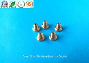 CNC Machining Brass Eccentric Parts Used on Laboratory Equipment