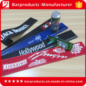 Embossed Logo Personalized Logo PVC Bar Mat