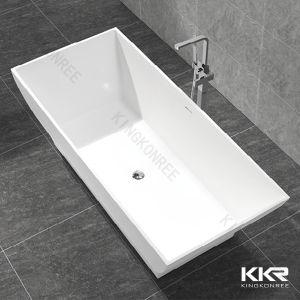 2017 Hot Cheap Artificial Stone Freestanding Bathtubs 170314 pictures & photos