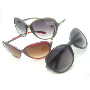 New Fashion PC Frame Design Sunglasses for Woman pictures & photos